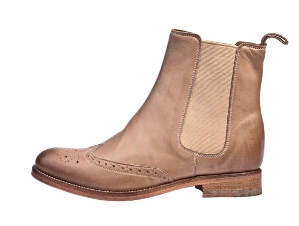 Vintage Boots washed beige