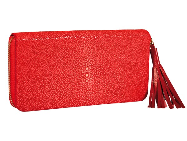 Jolie wallet stingray coral