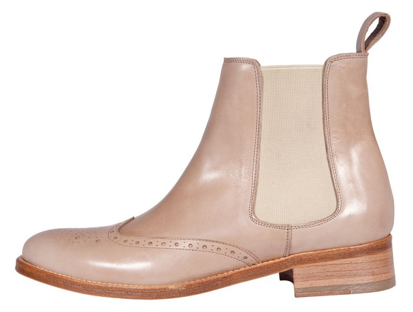Vintage Boots beige