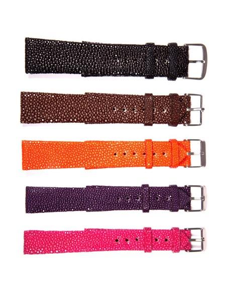 Uhrenbänder aus Rochenleder