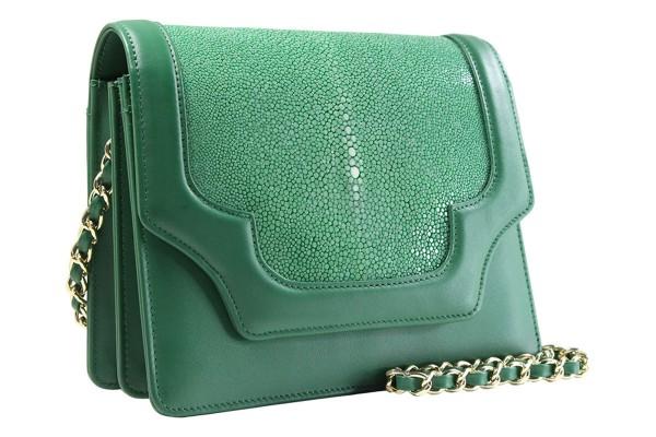 Kate -Handbag made of napa leather and stingray