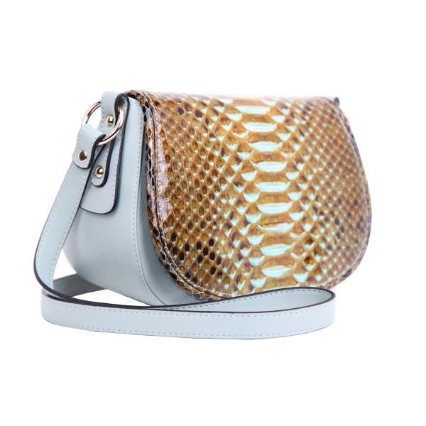 Alexa Tasche Python luxury mustard