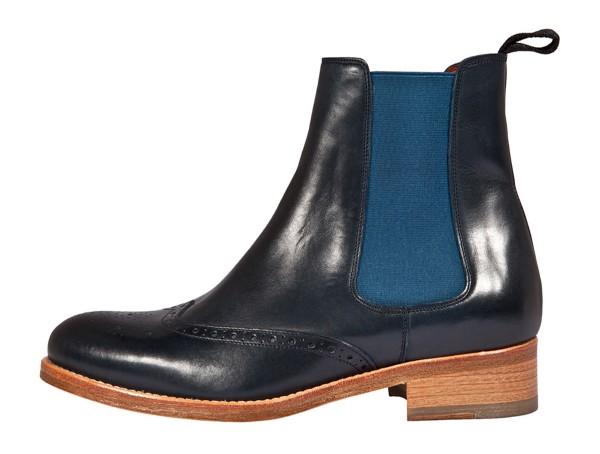 Vintage Chealsea Boots blue