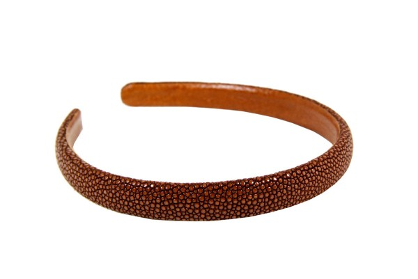 ALICE- Band made with stingray leather tan @a-cuckoo-moment