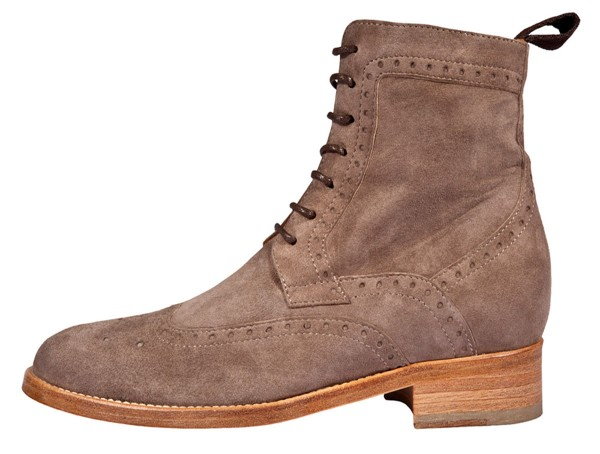 Dandy Boots Budapester style taupe